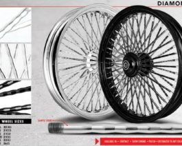 Diamond Styled Mammoth Spoke Wheels