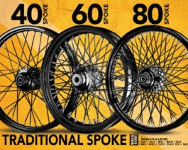 Premium Traditional Spoke Wheels