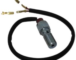 Banjo bolt with break light switch
